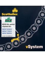Scottoiler vSystem chain lubrication system, for BMW F650GS / F700GS / F800GS (2008-2016)