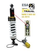 Touratech suspension shock for BMW F800GS from 2013 Type: Plug & Travel for BMW ESA