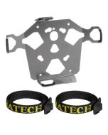 ZEGA Pro/ZEGA Mundo - Adapter plate with straps protection for spare canister 3 liter - benzine