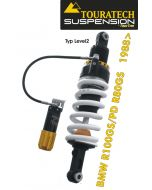 Touratech Suspension shock absorber for BMW R100GS/PD & R80GS from 1988 type *Level2/ExploreHP