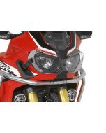 Headlight protector Makrolon with quick release fastener for Honda CRF1000L Africa Twin/ CRF1000L Adventure Sports *OFFROAD USE ONLY*