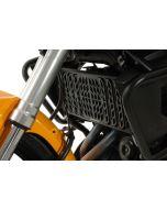Radiator guard for Kawasaki Versys 650 (2012-2014), aluminum, black