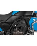 Engine cover (Set), black for Yamaha Tenere 700