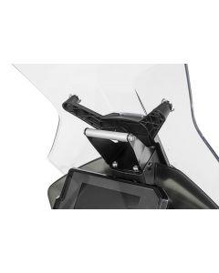 GPS handlebar bracket above the instruments, for KTM 890 Adventure/ 890 Adventure R/ 790 Adventure / 790 Adventure R / 390 Adventure, GPS bracket adapter Bracket for navigation systems
