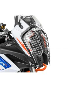 Headlight protector with quick release fasteners, for KTM 1290 Super Adventure S/R (2021-) *OFFROAD USE ONLY*