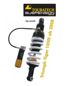 Touratech Suspension shock absorber for Triumph Tiger 1050i from 2008 type Level2/ExploreHP