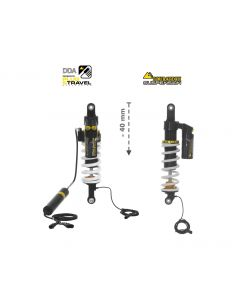 Touratech Suspension-SET Plug & Travel -40 mm lowering for BMW R1200GS Adventure 2014 - 2016
